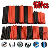 Heat Shrink Tubing Tube Assortment Wire Cable 530Pcs Insulation Sleeving Set (150PCS)