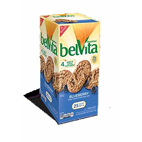 Belvita Blueberry Breakfast Biscuits 25 Count