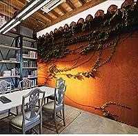 Djskhf カスタム3D壁画3Dパティオ風景壁紙Ktvテーマホテルレストランリビングルーム背景帝国宮殿壁壁画壁紙 400X280Cm