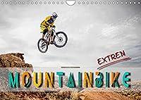 Mountainbike extrem (Wandkalender 2022 DIN A4 quer): Mountainbiking, Trendsportart mit viel Potential fuer Nervenkitzel. (Monatskalender, 14 Seiten )