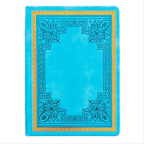Notizblock Notizbuch Hard Cover altes Buch undatierte Tagebuch Leatherette Vintage Manuskript Reisetagebuch Notebook