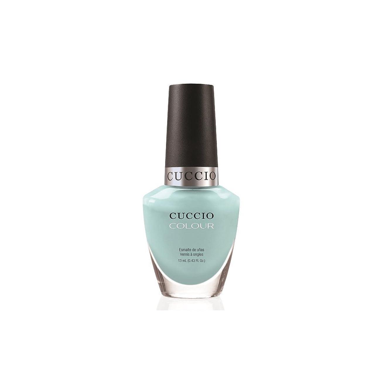 ホイスト専門知識然としたCuccio Colour Gloss Lacquer - Blue Hawaiian - 0.43oz/13ml