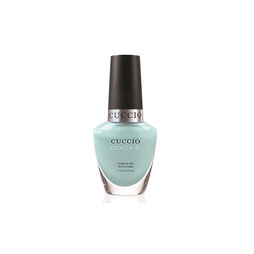 郵便番号学士地下鉄Cuccio Colour Gloss Lacquer - Blue Hawaiian - 0.43oz/13ml