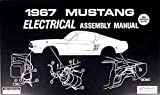 1967 FORD MUSTANG ELECTRICAL PARTS ASSEMBLY INSTRUCTION MANUAL - Wiring Diagrams, Schematics For Mustang Base, Convertible, Fastback, Hardtop, Shelby GT-350, GT-500