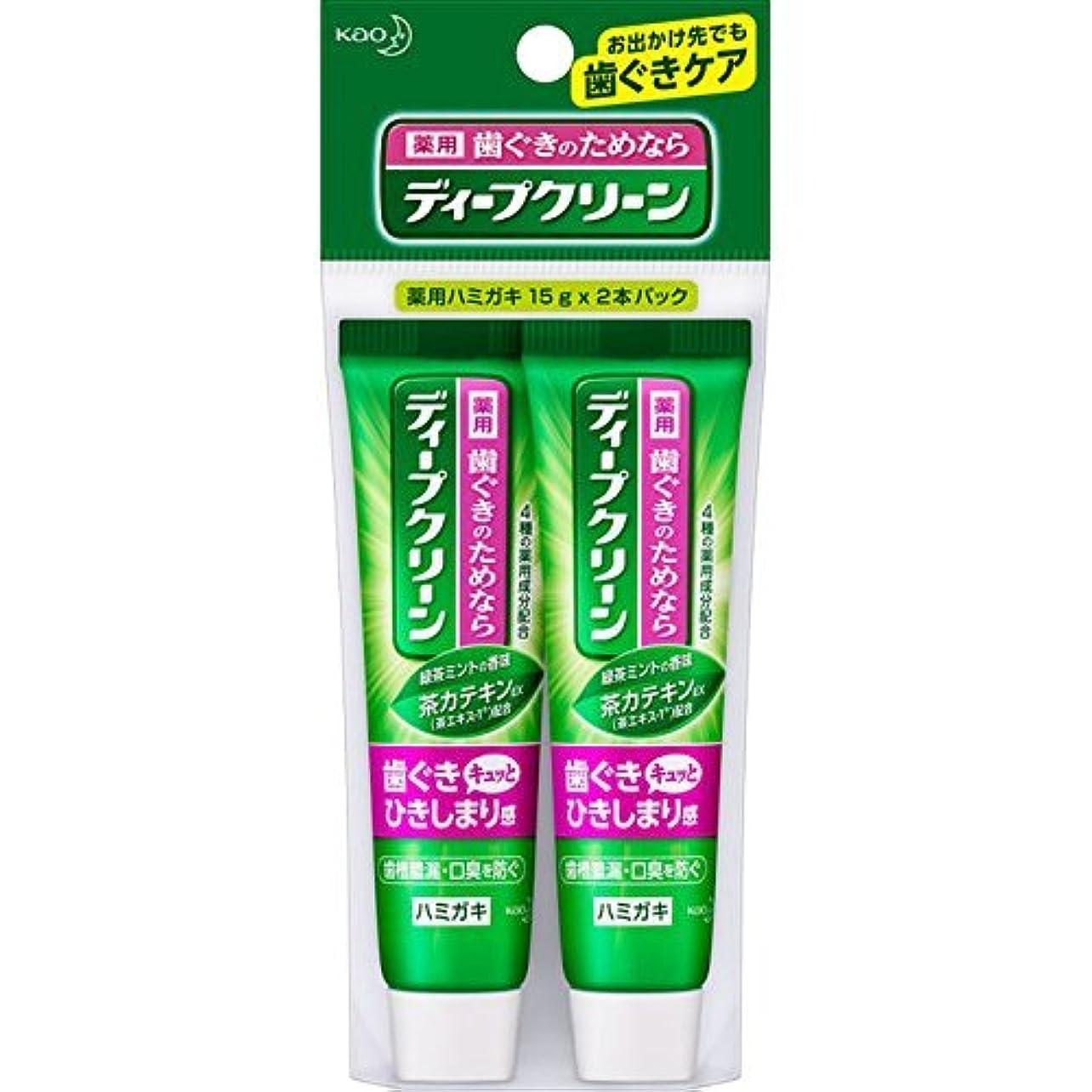 ようこそシャッター保守的花王 ディープクリーン 薬用ハミガキ ミニ 30g (医薬部外品)