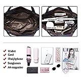 Zoom IMG-2 bestou griglia geometrica borsa donna