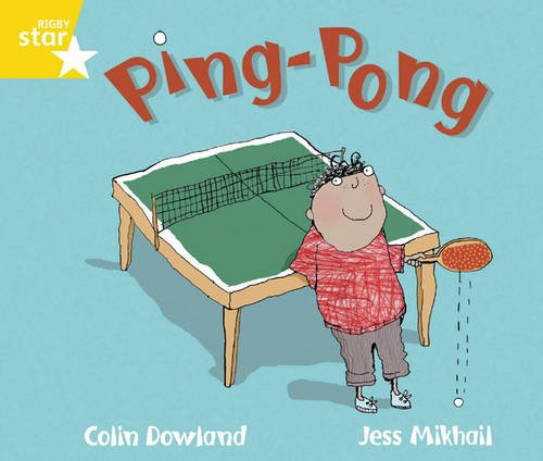 Rigby Star Guided Phonic Opportunity Readers Yellow: Ping Pong (Star Phonics Opportunity Readers)