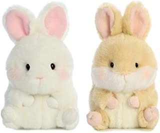 Aurora Plush Rolly Pet Easter Bunny Bundle, BunBun and Lively