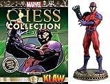 Eaglemoss Marvel Chess Figurine Collection Nº 31 Klaw