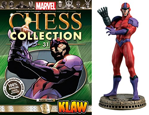 Eaglemoss Marvel Chess Figurine Collection Nº 31 Klaw