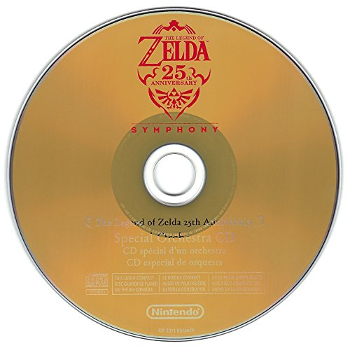 The Legend of Zelda 25th Anniversary Symphony Special Orchestra Soundtrack Music CD (Disc Only)