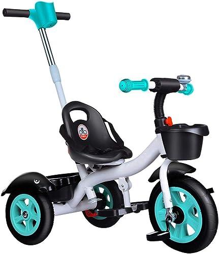 tiempo libre GYF Baby Triciclo Evolutivo  Triciclo Plegable    con Asiento Giratorio 360° Triciclo para Niños  de 6 hasta 36 Meses  negro   verde   rojo   72X48X92CM ( Color   verde )  ventas en linea