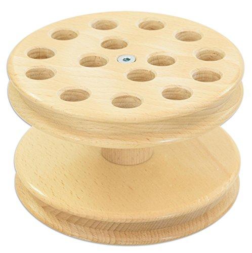 Betzold 11987 - Scheren-Ständer aus Holz für 15 Scheren - Kinderschere Schere Bastelschere basteln ausschneiden Kinder Kindergarten Kinderkrippe Gruppenset Scherenset
