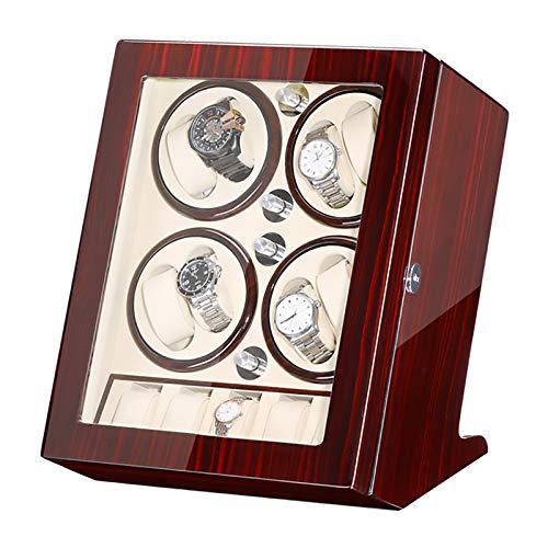 Reloj Windoer - 8 + 5 Watch Shaker Automático Mecánico Reloj Rayadero Rotador de motor Rotador de joyería Mueble de visualización Mueble con caja de almacenamiento de reloj de gran capacidad. Adecuado