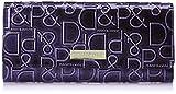 [ピンキーアンドダイアン] 財布 【ドルチェ】 エナメル ロゴ型押し パープル