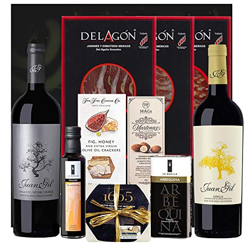 Pack Gourmet Con Vino - Jumilla