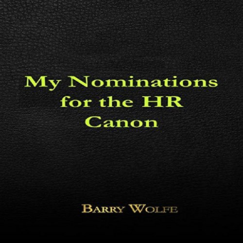 My Nominations for the HR Canon audiobook cover art