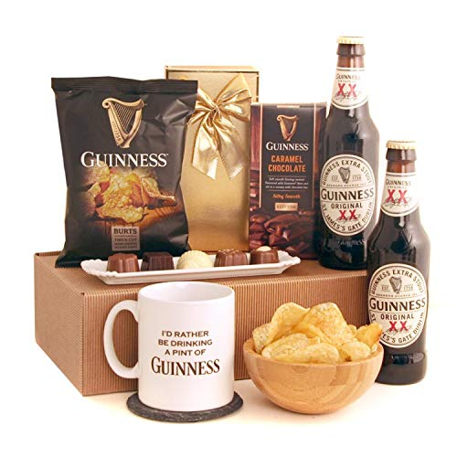 Guinness Gifts - I'd Rather Be Drinking Guinness Gift Box - Luxury Food and Beer Gifts
