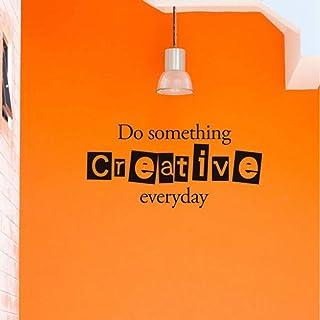 Citation inspirante stickers muraux pour enfants/bureau Everyday Inspirational 86 * 43cm