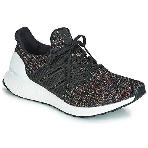 Adidas Ultra Boost Zapatilla para Correr en Carretera o Camino de Tierra Ligero con Soporte Neutral para Hombre Multicolor Negro Blanco 43 1/3 EU