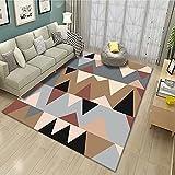 Cachemire - Alfombras grandes redondas cuadradas rectangulares de 60 x 160 cm de cachemir para salón, modernas, grandes, redondas, cuadradas, rectángulos, RUG Carpet KIOLKI-2