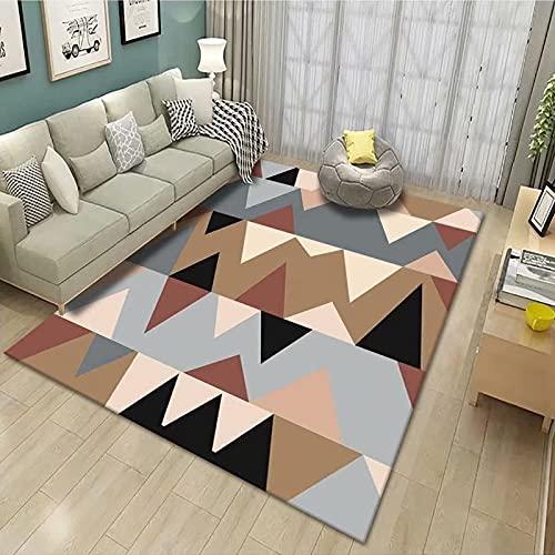 Cachemire - Alfombras grandes redondas cuadradas rectangulares de 120 x 170 cm de cachemir para salón, modernas, grandes, redondas, cuadradas, rectangulares, RUG Carpet KiolkI-2