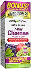 7 Days: This product is designed to assist the body in removing excess waste over the course of a 7 day period Clean formula: Contains a good source of the antioxidant vitamin C and includes the super fruits Brazilian açaí, amla and kiwi Probiotic: C...