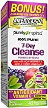 Detox Cleanse   Purely Inspired 7 Day Cleanse and Detox Pills   Acai Berry Cleanse   Whole Body Cleanse Detox for Women & Men   Body Detox with Senna Leaf & Digestive Enzymes   42 Acai Berry Capsules