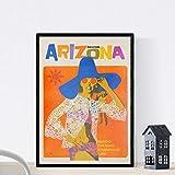 Nacnic Vintage Poster Vintage Poster Amerika. Arizona
