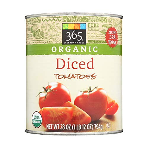 365 Everyday Value, Organic Diced Tomatoes, 28 oz