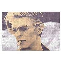 David Bowie 子供用 1000ピース 木のパズル 高級印刷 動物 風景 アニメ パズル 面白い 人気 キッズ 学習 認知 玩具 壁飾り 初心者向け ストレス解消 ブレインティーザー ゲーム ギフト プレゼント