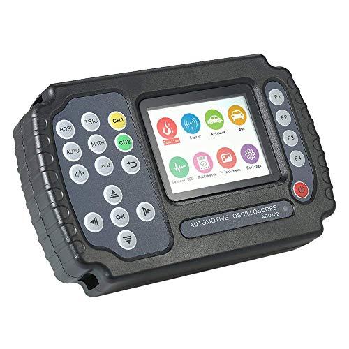 FACAIA Osciloscopio automotriz multímetro de 10MHz, 2 Canales 100MSa, s Osciloscopio Digital portátil Mini osciloscopio Almacenamiento de Datos