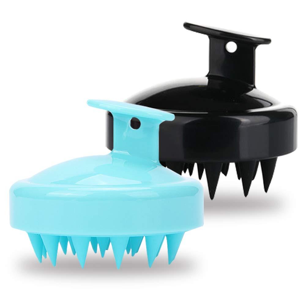 Set of 2 Superlatite Selling rankings Hair Scalp Massager findTop Handheld Brush He Shampoo