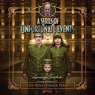 The Penultimate Peril     A Series of Unfortunate Events #12              Auteur(s):                                                                                                                                 Lemony Snicket                               Narrateur(s):                                                                                                                                 Tim Curry                      Durée: 6 h et 26 min     3 évaluations     Au global 5,0
