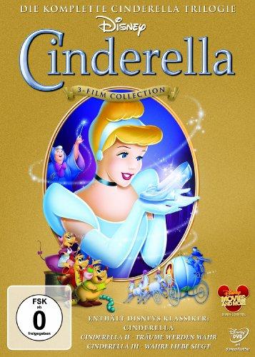 Cinderella 1-3 - Trilogie [3 DVDs]