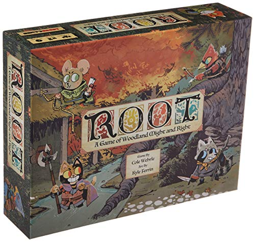 Leder Games - Root: A Game of Woodland Might & Right - Board Game (Toy)
