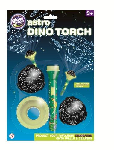 Preisvergleich Produktbild Brainstorm Glow in der Dunkle Astro Dino Projektor Torch Wissenschaft pädagogisches Spielzeug