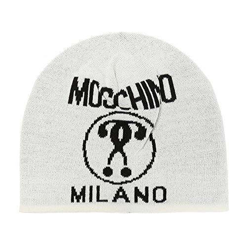 Moschino Mütze Herren M5146 60016 001 Weiß