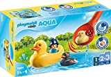 PLAYMOBIL 1.2.3 Familia de Patos, Multicolor (70271)