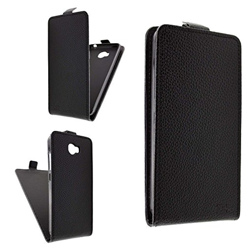 caseroxx Flip Cover für Archos 50 Cobalt, Tasche (Flip Cover in schwarz)