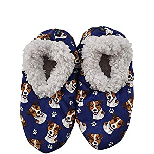 Jack Russell Terrier Super Soft Women's Slippers #10