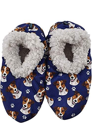 Jack Russell Terrier Super Soft Women's Slippers #10