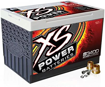 XS Power Recommended S3400 'S Series' 12V Sale Automotive 300 AGM 3 Starting Amp