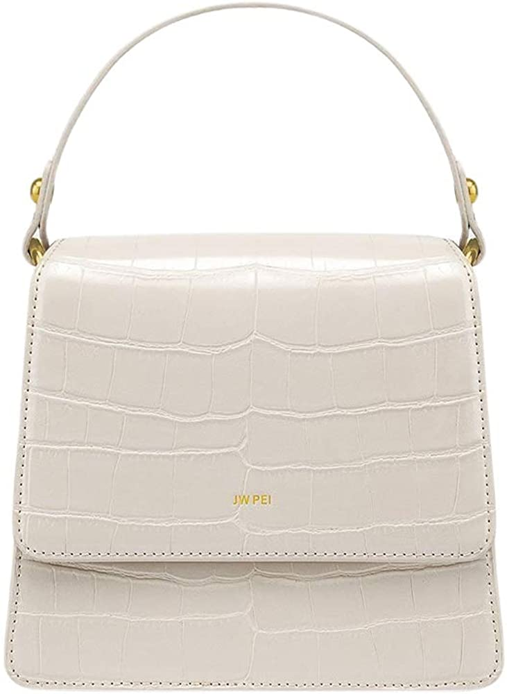 JW PEI Women Top handle Crossbody Bag Vegan Leather Removable Shoulder Strap Handbag