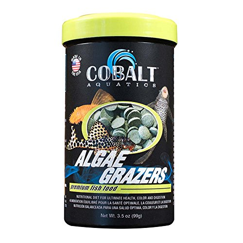 Cobalt Aquatics Algae Grazers 3.5oz, Green