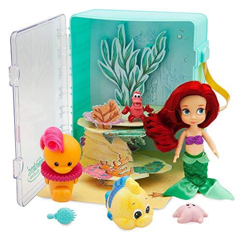 Disney Animators' Collection Ariel Mini Muñeca Playset – La Sirenita