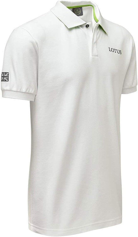 Lotus Cars White Logo Polo Shirt