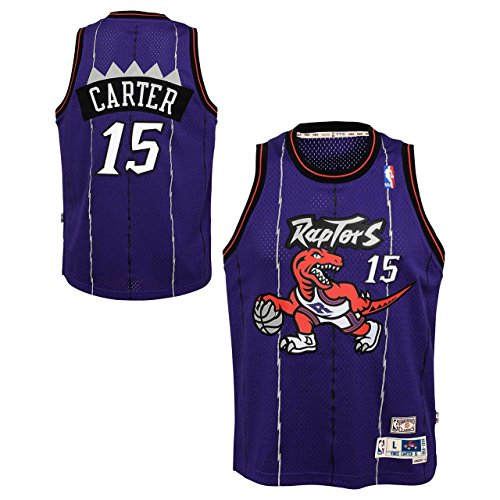 Outerstuff Vince Carter Toronto Raptors NBA Youth Throwback 1998-99 Swingman Jersey