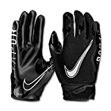 Nike Vapor Jet 6.0 - Guantes de fútbol para hombre - Negro - X-Large