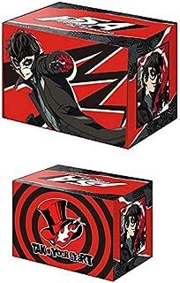 Persona 5 Protagonist Ren Akira Joker Card Game Character Deck Box Case Holder Collection V2 Vol.583 Anime Art